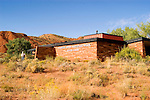Capitol Reef National Park, Visitor's Center, landform, arid, Southwest America, American Southwest, US, United States, Image ut400-18125, Photo copyright: Lee Foster, www.fostertravel.com, lee@fostertravel.com, 510-549-2202