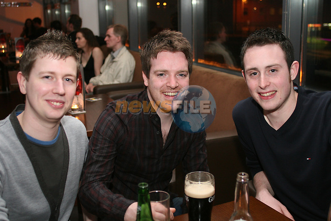 Chris Rees, Michael Moore and Justin Molloyin Bru...Photo NEWSFILE/Jenny Matthews.(Photo credit should read Jenny Matthews/NEWSFILE)....This Picture has been sent you under the condtions enclosed by:.Newsfile Ltd..The Studio,.Millmount Abbey,.Drogheda,.Co Meath..Ireland..Tel: +353(0)41-9871240.Fax: +353(0)41-9871260.GSM: +353(0)86-2500958.email: pictures@newsfile.ie.www.newsfile.ie.FTP: 193.120.102.198.