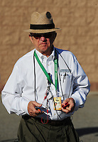 Feb 20, 2009; Fontana, CA, USA; NASCAR Sprint Cup Series team owner Jack Roush during qualifying for the Auto Club 500 at Auto Club Speedway. Mandatory Credit: Mark J. Rebilas-