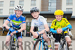 Kieran Colgan,Ballymac, Owen Patwell, Killarney and Eóin O'Shea Killorglin at the Tralee Manor West GP on Sunday