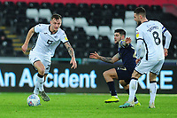 Ben Wilmot of Swansea City in action during the Sky Bet Championship match between Swansea City and Barnsley at the Liberty Stadium in Swansea, Wales, UK. Sunday 29 December 2019