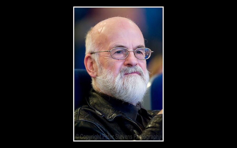 Terry Pratchett OBE - Birmingham International Convention Centre - 29th September 2008