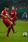 19.12.2017, Veltins-Arena , Gelsenkirchen, GER, DFB Pokal Achtelfinale, FC Schalke 04 vs 1. FC K&ouml;ln<br /> , <br /> <br /> im Bild | pictures shows:<br /> vl. Milos Jojic (1.FC Koeln #8) mit Jannes Horn (1.FC Koeln #23), <br /> <br /> Foto &copy; nordphoto / Rauch