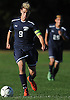 Adam Feldstein #9 of Plainview JFK moves the ball downfield during a Nassau County Conference AA-3 boys soccer game against host Westbury High School on Friday, Oct. 14, 2016. He scored a goal in the first half to lead Plainview JFK to a 1-0 win.