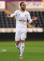 Pictured: Kenji Gorre of Swansea Monday 04 April 2016<br />