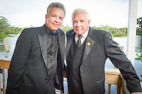Tony Denison and G.W. Bailey, stars of TNTs Major Crimes, with the Sunshine Kids during the Once Upon a Time Childrens Gala at the Naples Zoo ... photo/debi pittman wilkey