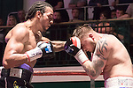 Wadi Camacho vs Danny Couzens Southern Area Title Cruiserweight During Goodwin Boxing: Summer Fight Festival. Photo by: Simon Downing.<br /> <br /> Saturday 16th July 2016 - York Hall, Bethnal Green, London, United Kingdom.