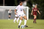 04 October 2012: UNC's Ranee Premji (CAN). The University of North Carolina Tar Heels defeated the Boston College Eagles 1-0 at Fetzer Field in Chapel Hill, North Carolina in a 2012 NCAA Division I Women's Soccer game.