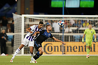 SAN JOSE, CA - JULY 16: Guram Kashia #37 of the San Jose Earthquakes during a friendly match between the San Jose Earthquakes and Real Valladolid on July 16, 2019 at Avaya Stadium in San Jose, California.