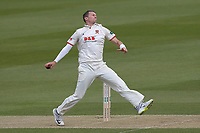 Peter Siddle in bowling action for Essex during Surrey CCC vs Essex CCC, Specsavers County Championship Division 1 Cricket at the Kia Oval on 12th April 2019