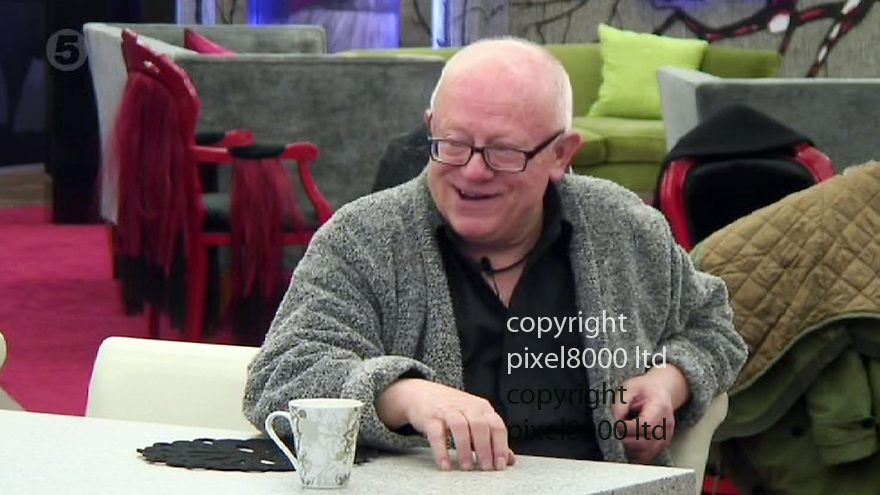 Channel 5 Celebrity Big Brother.<br /> Ken Morley get's into rows with housemates and uses &quot;racist&quot; terms before being booted out.<br /> <br /> Ken uses the word &quot;negro&quot; in an anecdote about Frank Bruno with Keith Chegwin<br /> <br /> <br /> <br /> Picture by Pixel8000 07917221968