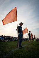 Autumn flags. Photo: Malin Serner/SCOUTERNA