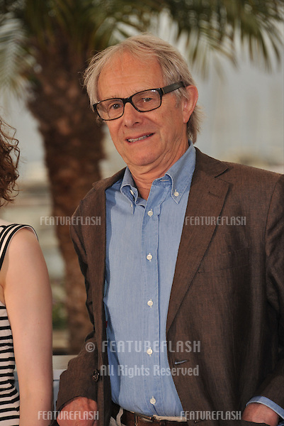 Director Ken Loach at the photocall for his movie &quot;Jimmy's Hall&quot; at the 67th Festival de Cannes.<br /> May 22, 2014  Cannes, France<br /> Picture: Paul Smith / Featureflash