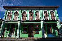 The Peranakans, also known as the Babas and Nyonyas, was a prominent community of acculturated Chinese unique Penang and other Straits Settlements.  Adopting selected ways of the local Malays and later, the colonial British, the Peranakans  created a unique lifestyle and customs which left behind a rich legacy of antiques and cultural influences like cuisine and language are still evident in Penang today.  The Pinang Peranakan Mansion was a typical home of a rich Baba of a century ago is recreated to offer a glimpse of their opulent lifestyle and of their many customs and traditions.