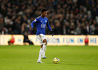 28th December 2019; London Stadium, London, England; English Premier League Football, West Ham United versus Leicester City; Demarai Gray of Leicester City  - Strictly Editorial Use Only. No use with unauthorized audio, video, data, fixture lists, club/league logos or 'live' services. Online in-match use limited to 120 images, no video emulation. No use in betting, games or single club/league/player publications