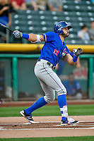 Joey Gallo (13) of the Round Rock Express at bat against the Salt Lake Bees in Pacific Coast League action at Smith's Ballpark on August 13, 2016 in Salt Lake City, Utah. Round Rock defeated Salt Lake 7-3.  (Stephen Smith/Four Seam Images)