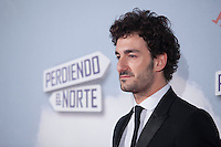 Actor Miki Esparbe poses during `Perdiendo el Norte´ film premiere photocall in Madrid, Spain. March 05, 2015. (ALTERPHOTOS/Victor Blanco) /NORTEphoto.com