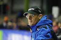 SCHAATSEN: HEERENVEEN: 14-12-2014, IJsstadion Thialf, ISU World Cup Speedskating, Jillert Anema (trainer/coach Team Clafis), ©foto Martin de Jong
