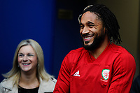 Ashley Williams of Wales during the Wales Training Session at the Cardiff City Stadium in Cardiff, Wales, UK. Thursday 15 November 2018