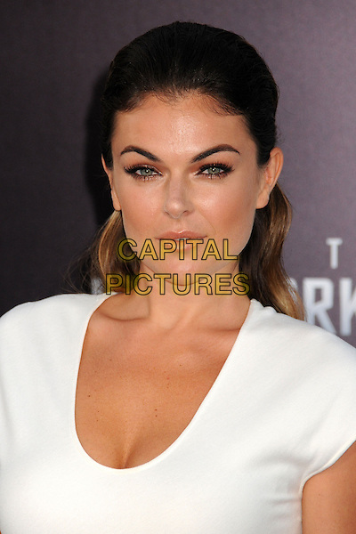 """Serinda Swan.""""Star Trek Into Darkness"""" Los Angeles Premiere held at the Dolby Theatre, Hollywood, California, USA..May 14th, 2013.headshot portrait white   .CAP/ADM/BP.©Byron Purvis/AdMedia/Capital Pictures"""
