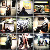 Subway - New York, New York. 2008. .
