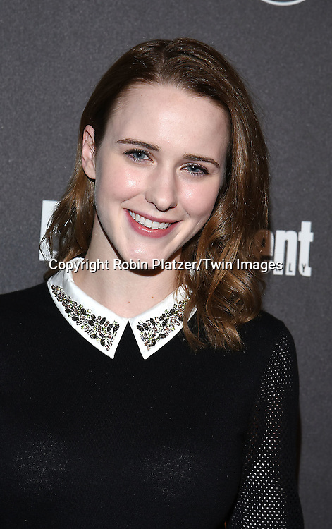 Rachel Brosnahan attends the Entertainment Weekly &amp; PEOPLE Magazine New York Upfronts Celebration on May 16, 2016 at Cedar Lake in New York, New York, USA.<br /> <br /> photo by Robin Platzer/Twin Images<br />  <br /> phone number 212-935-0770