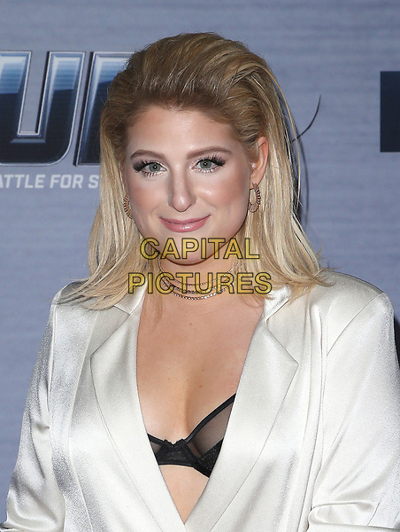 08 February 2018 - West Hollywood, California - Meghan Trainor. FOX's The Four: Battle For Stardom season finale viewing party held at Delilah. <br /> CAP/ADM/FS<br /> &copy;FS/ADM/Capital Pictures