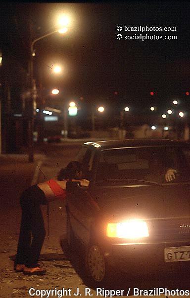 Child prostitution. Fortaleza, Ceará, Brazil.