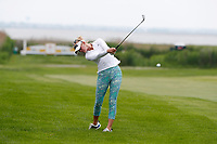 Jessica Korda (USA) hits her second shot on the third hole during the final round of the ShopRite LPGA Classic presented by Acer, Seaview Bay Club, Galloway, New Jersey, USA. 6/10/18.<br /> Picture: Golffile   Brian Spurlock<br /> <br /> <br /> All photo usage must carry mandatory copyright credit (&copy; Golffile   Brian Spurlock)