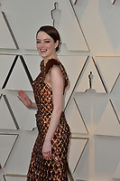LOS ANGELES, CA. February 24, 2019: Emma Stone at the 91st Academy Awards at the Dolby Theatre.<br /> Picture: Paul Smith/Featureflash