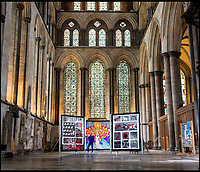 Art and Craft! - Needlework tapestries in Salisbury Cathedral.