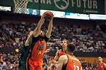 League ACB-ENDESA 2017/2018. Game: 30.<br /> Divina Seguros Joventut vs Valencia Baket Club: 77-75.<br /> Bojan Dubljevic.