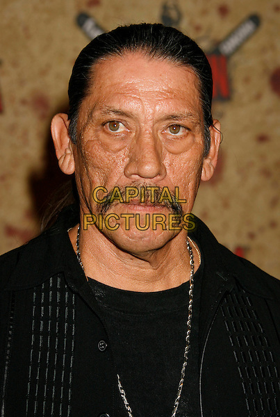 DANNY TREJO.Fuse Fangoria Chainsaw Awards held at The Orpheum Theatre, Los Angeles, California, USA - Arrivals.October 15th, 2006.Ref: ADM/RE.headhsot portrait mustache facial hair.www.capitalpictures.com.sales@capitalpictures.com.©Russ Elliot/AdMedia/Capital Pictures.