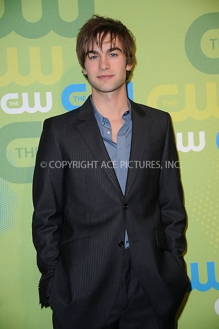WWW.ACEPIXS.COM . . . . . ....May 21 2009, New York City....Chace Crawford arriving at the 2009 The CW Network UpFront at Madison Square Garden on May 21, 2009 in New York City.....Please byline: KRISTIN CALLAHAN - ACEPIXS.COM.. . . . . . ..Ace Pictures, Inc:  ..tel: (212) 243 8787 or (646) 769 0430..e-mail: info@acepixs.com..web: http://www.acepixs.com