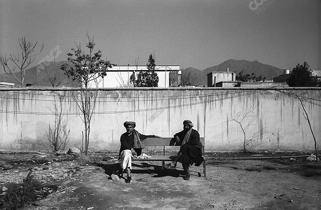 Grounds of the Mental Health Hospital. Kabul, Afghanistan. March 2006