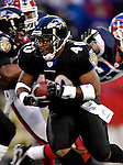 31 December 2006: Baltimore Ravens running back Cory Ross (40) in action during a game against the Buffalo Bills at M&T Bank Stadium in Baltimore, Maryland. The Ravens defeated the Bills 19-7. Mandatory Photo Credit: Ed Wolfstein Photo.<br />