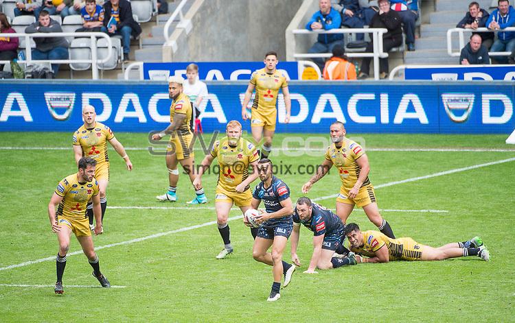 Picture by Allan McKenzie/SWpix.com - 20/05/2017 - Rugby League - Dacia Magic Weekend - St James' Park, Newcastle, England - The brief, Dacia, branding.