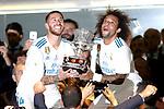 Supercopa de Espa&ntilde;a - Vuelta<br /> R. Madrid vs FC Barcelona: 2-0.<br /> Sergio Ramos &amp; Marcelo.