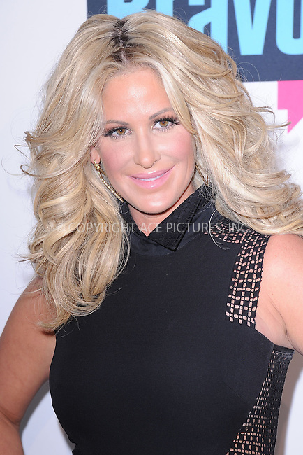 WWW.ACEPIXS.COM . . . . . .April 3, 2013...New York City....Kim Zolciak attends the 2013 Bravo New York Upfront at Pillars 37 Studios on April 3, 2013 in New York City ....Please byline: KRISTIN CALLAHAN - ACEPIXS.COM.. . . . . . ..Ace Pictures, Inc: ..tel: (212) 243 8787 or (646) 769 0430..e-mail: info@acepixs.com..web: http://www.acepixs.com .