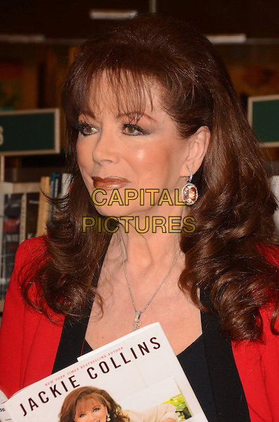 17 April 2014 - Los Angeles, California - Jackie Collins. Jackie Collins' &quot;The Lucky Santangelo Cookbook&quot; book signing held at Barnes &amp; Nobles at The Grove in Los Angeles, Ca.  <br /> CAP/ADM/BT<br /> &copy;Birdie Thompson/AdMedia/Capital Pictures