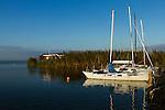 Segelhafen, Marina, Sporthafen, Hafen, Segelboot, Boot, Neusiedl am See, Bezirk Neusiedl am See, Burgenland, Austria, Österreich