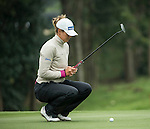 Marianne Skarpnord of Norway plays on the 14th green during Round 2 of the World Ladies Championship 2016 on 11 March 2016 at Mission Hills Olazabal Golf Course in Dongguan, China. Photo by Victor Fraile / Power Sport Images