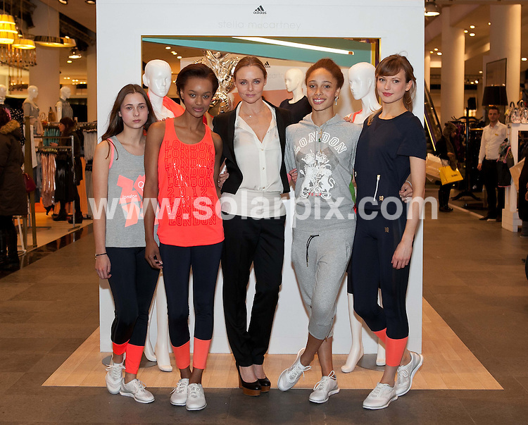 **ALL ROUND PICTURES FROM SOLARPIX.COM**                                             **  UK NEWSPAPER PUBLICATION PERMITTED ONLY AFTER 7 DAYS FROM THIS CAPTION DATE**. ** NO PUBLICATION IN AUSTRALIA, BELGIUM, FRANCE, GERMANY, ITALY, SCANDINAVIA AND USA**                                                                                  Caption: Stella McCartney personal appearance. .Fashion designer Stella McCartney visits the Beauty Hall at Selfridges in London to sign bottles of her latest fragrance, L.I.L.Y.                                                                               This pic: Stella McCartney                                                                                             JOB REF: 14460       SFE       DATE: 08.02.2012                                                           **MUST CREDIT SOLARPIX.COM OR DOUBLE FEE WILL BE CHARGED**                                                                      **MUST AGREE FEE BEFORE ONLINE USAGE**                               **CALL US ON: +34 952 811 768 or LOW RATE FROM UK 0844 617 7637**