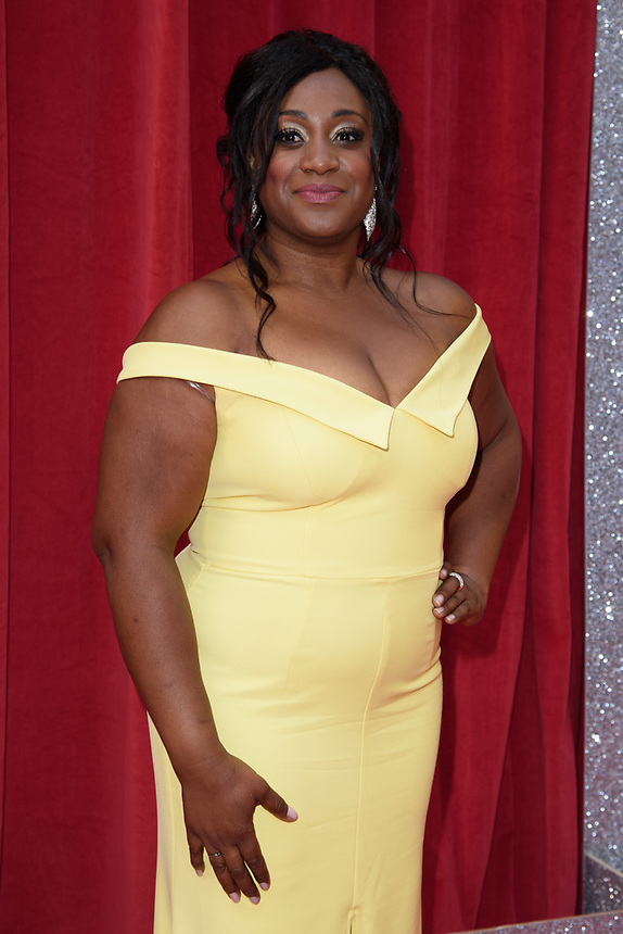 Sandra Marvin<br /> arriving for the British Soap Awards 2018 at the Hackney Empire, London<br /> <br /> ©Ash Knotek  D3405  02/06/2018
