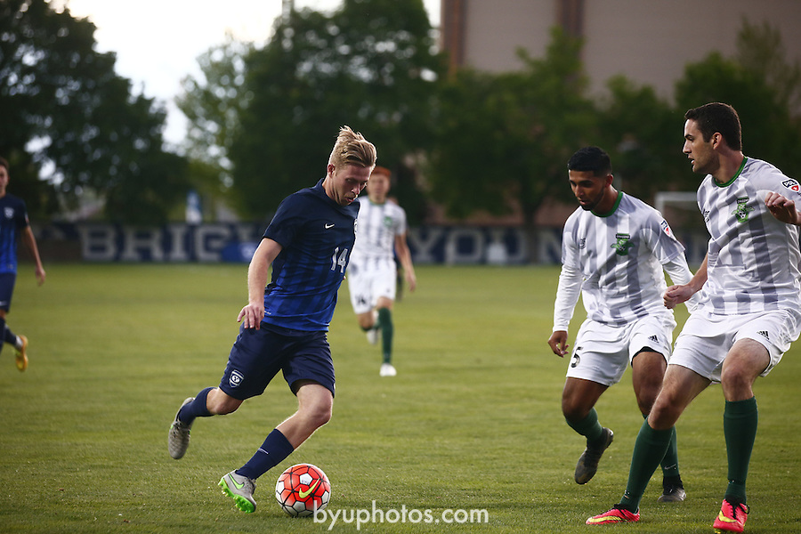 16mSOC vs Burlingame 524<br /> <br /> 16mSOC vs Burlingame<br /> <br /> May 21, 2016<br /> <br /> Photography by Aaron Cornia/BYU<br /> <br /> Copyright BYU Photo 2016<br /> All Rights Reserved<br /> photo@byu.edu  <br /> (801)422-7322
