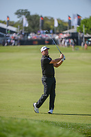 Graeme McDowell (NIR) watches his approach shot on 1 during round 3 of the Arnold Palmer Invitational at Bay Hill Golf Club, Bay Hill, Florida. 3/9/2019.<br /> Picture: Golffile | Ken Murray<br /> <br /> <br /> All photo usage must carry mandatory copyright credit (© Golffile | Ken Murray)