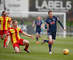 04.05.2018 Partick Thistle v Ross County: Chris Erskine and Michael Gardyne