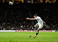 George Ford of England during the Guinness Six Nations match between England and Italy at Twickenham Stadium on March 9th, 2019 in London, United Kingdom. Photo by Liam McAvoy.