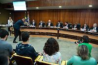 SÃO PAULO,SP, 23.11.2015 - SEGURANÇA - SP - O secretário estadual de segurança Alexandre de Moraes, participa da Comissão de segurança Pública e Assuntos Penitenciários, na Assembléia Legislativa, nessa terça-feira 23. (Foto: Gabriel Soares/Brazil Photo Press)