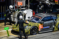 #57 TEAM PROJECT 1 (DEU) PORSCHE 911 RSR LMGTE AM JORG BERGMEISTER (DEU) EGIDIO PERFETTI (NOR)